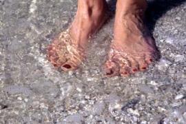 Kieselsäure ist gut für die Füße