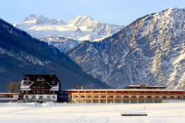 Das Wellnesshotel in Bad Aussee in seiner außergewöhnlichen Lage