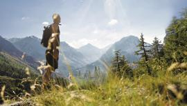 Wellness f�r die Seele im Gebirge