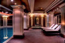 Der au�ergew�hnliche Spa-Bereich des Hotels in Bad W�rishofen