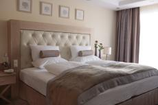 Gemütliche Nächte verbringen Sie in den schönen Zimmern des Hotels