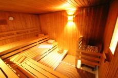 In der Sauna können Sie abschalten