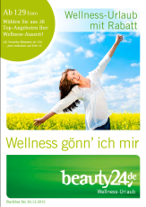 Der neue beauty24 Wellnesskatalog