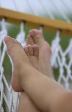 Hautprobleme an den Füßen können sehr unangenehm sein