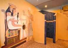 Der ägyptische Wellnessbereich entführt Sie in eine andere Welt / Quelle: Wohlfühlhotel in Waren / Müritz;beauty24 GmbH