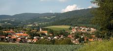 Ausblick in den Bayerischen Wald