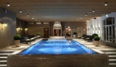 Der gemütliche Wellnessbereich des Hotels