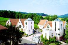 Ausblick vom Hotel in die naturreiche Rhön
