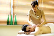 Eine wohltuende Massage