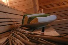 Die finnische Sauna sorgt für Entspannung