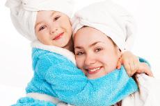 Wellness zum Muttertag. Bildhinweis: © LanaK - Quelle: fotolia.com