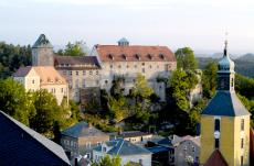 Der Blick auf Hohnstein
