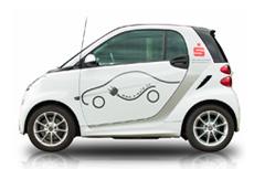 Freie Fahrt mit dem Elektroauto im Wellness Kurzurlaub.
