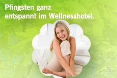 Schnell noch Wellness Kurzurlaub über das verlängerte Pfingst-Wochenende buchen.