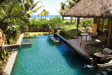 Luxus-Villa mit privatem Pool für Ihre Flitterwochen auf Mauritius.