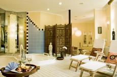 Der gemütliche Saunabereich des Hotels / Quelle: Hotel am Kurpark Bad Wilsnack - beauty24 GmbH