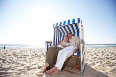 Am Sandstrand von Sylt entspannen