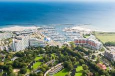 Wunderschöne Aussicht über den Yachthafen & die Hotelanlage