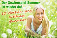 Gewinnspiel-Sommer geht in die 6. Wellness Woche. © chagin - Quelle: fotolia.com