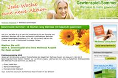 Bei der 8. Wellness Aktion teilnehmen und mit etwas Glück eine Wellness Auszeit für Zwei gewinnen. Quelle: beauty24 GmbH