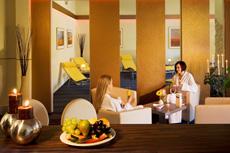 Im Saunabereich vom Alltag abschalten. Quelle: Sporthotel in Pirna - beauty24 GmbH