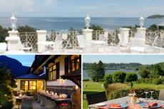 Auf welcher Terrasse würdet ihr am liebsten im Sommer relaxen? Quelle: Wellnesshotel in Binz, Wellnesshotel in Garmisch-Partenkrichen, Wellnesshotel am Wiesensee - beauty24 GmbH