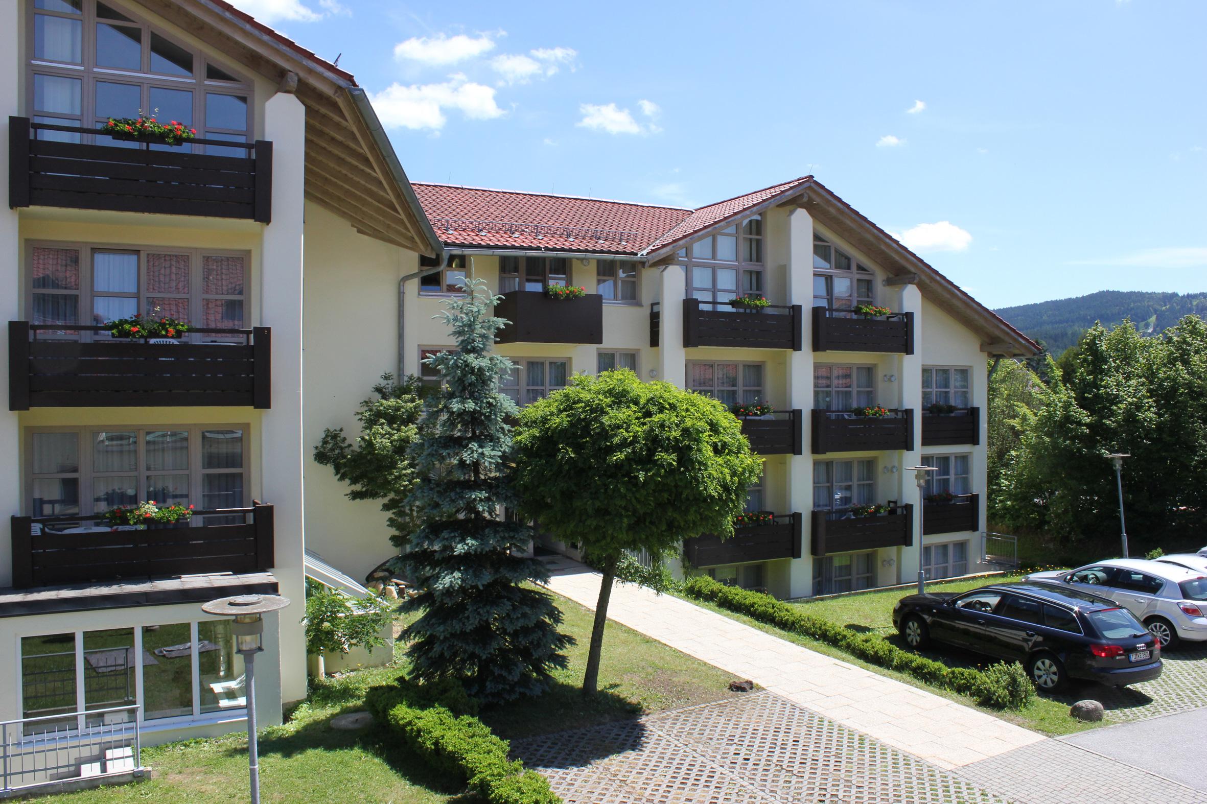 Die wunderbare Aussicht lässt Sie alle Sorgen vergessen. Quelle: Wohlfühlhotel in Bodenmais - beauty24 GmbH