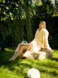 Im Feng-Shui-Garten entspannen und Wellness genie�en. Quelle: Wellnesshotel in Niederbayern - beauty24 GmbH