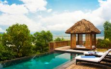 Die Honeymoon Villa mit privatem Pool. Quelle: Vedana Lagoon Resort & Spa, Vietnam - beauty24 GmbH