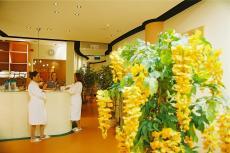 Wellnessrezeption - hier geht's in die Welt der Erholung. Quelle: Wellness im Ostseebad Zinnowitz - beauty24 GmbH