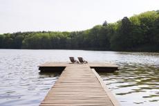 Der Wandlitzer See bietet eine herrliche Kulisse für Ihr Wellness Wochenende. Quelle: Wellness am Madlitzer See, Mark Brandenburg - beauty24 GmbH