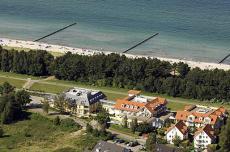 Das Hotel liegt nur wenige Gehminuten vom Strand entfernt / Quelle: Wohlfühlhotel in Zingst; beauty24 GmbH