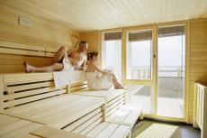 In der Sauna vom Alltag abschalten. Quelle: Wellness in Boltenhagen, Ostsee - beauty24 GmbH