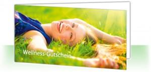 So sieht unser neuer Wellness-Gutschein Klassik aus. Bildhinweis: © Subbotnik Anna - fotolia.com
