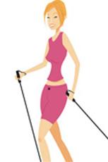 Nordic Walking hält den Körper fit und befreit den Kopf von Alltagssorgen. Quelle: beauty24 GmbH