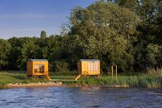 Die Strandwagensauna am Zwischenahner Meer. Quelle: Wellnesshotel in Bad Zwischenahn - beauty24 GmbH