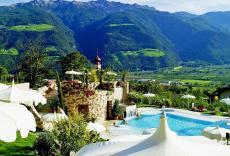 Bei diesem Ausblick können Sie alles andere vergessen. Quelle: Wellness-Hotel in Naturns bei Meran, Südtirol - beauty24 GmbH