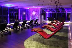 Der moderne Wellnessbereich bildet einen hervoragenden Kontrast zum mittelalterlichem Flair / Quelle: Schlosshotel in Waldhessen; beauty24 GmbH