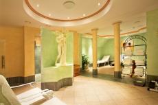 Der Saunabereich lädt zum Verweilen ein / Quelle: Wohlfühlhotel in Rotenburg; beauty24 GmbH