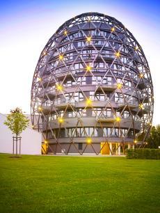 Das Hotel begeistert durch seine einzigartige Architektur / Quelle: Vital- und Wellnesshotel Winterberg; beauty24 GmbH
