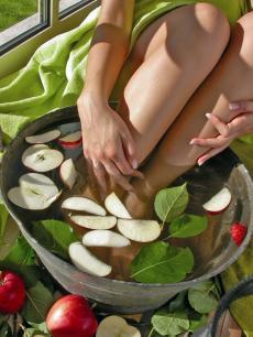 Äpfel sind wichtiger Bestandteil bei Ihren Wellnessanwendungen / Quelle: Wellness in Wörlitz/ Dessau; beauty24 GmbH
