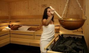 Die Finnische Sauna läd zum Entspannen ein! Quelle: Wellnesshotel in Winterberg - beauty24 GmbH