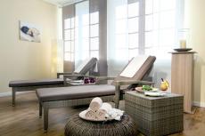 Pure Entspannung im neuen Wellnessbereich des Hotels. Quelle: Golf- und Wellness-Hotel am Wiesensee - beauty24 GmbH