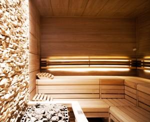 Erleben Sie die entspannende Wirkung eines Saunagangs Quelle: Wellness in Hamanar - beauty24 GmbH