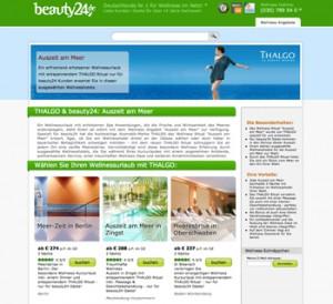 Auszeit am Meer im ausgewählten Wellnesshotel - jetzt buchen. Quelle: beauty24 GmbH