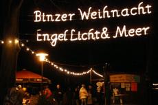 Unser zweiter Punkt der Top 10 der schönsten Weihnachtsmärkte Deutschlands führt an die Ostsee nach Binz. Quelle: Kurverwaltung Ostseebad Binz