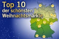 Unsere Top 10 der schönsten Weihnachtsmärkte Quelle: beauty24 GmbH