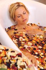 Lieber ein Verwöhnbad? Kein Problem, in Willingen werden Wellness-Wünsche wahr! Quelle: Entspannung in Willingen / Sauerland - beauty24 GmbH