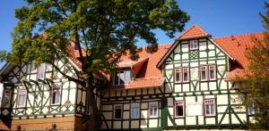 Verweilen Sie im traditionellen Fachwerkhaus in Dermbach! Quelle: Wellness in der th�ringischen Rh�n - beauty24 GbmH