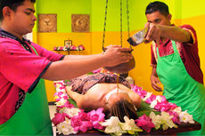 Zertifizierte Ayurveda Anwendung in Sri Lanka genießen. Quelle: Life Ayurveda Resort - beauty24 GmbH